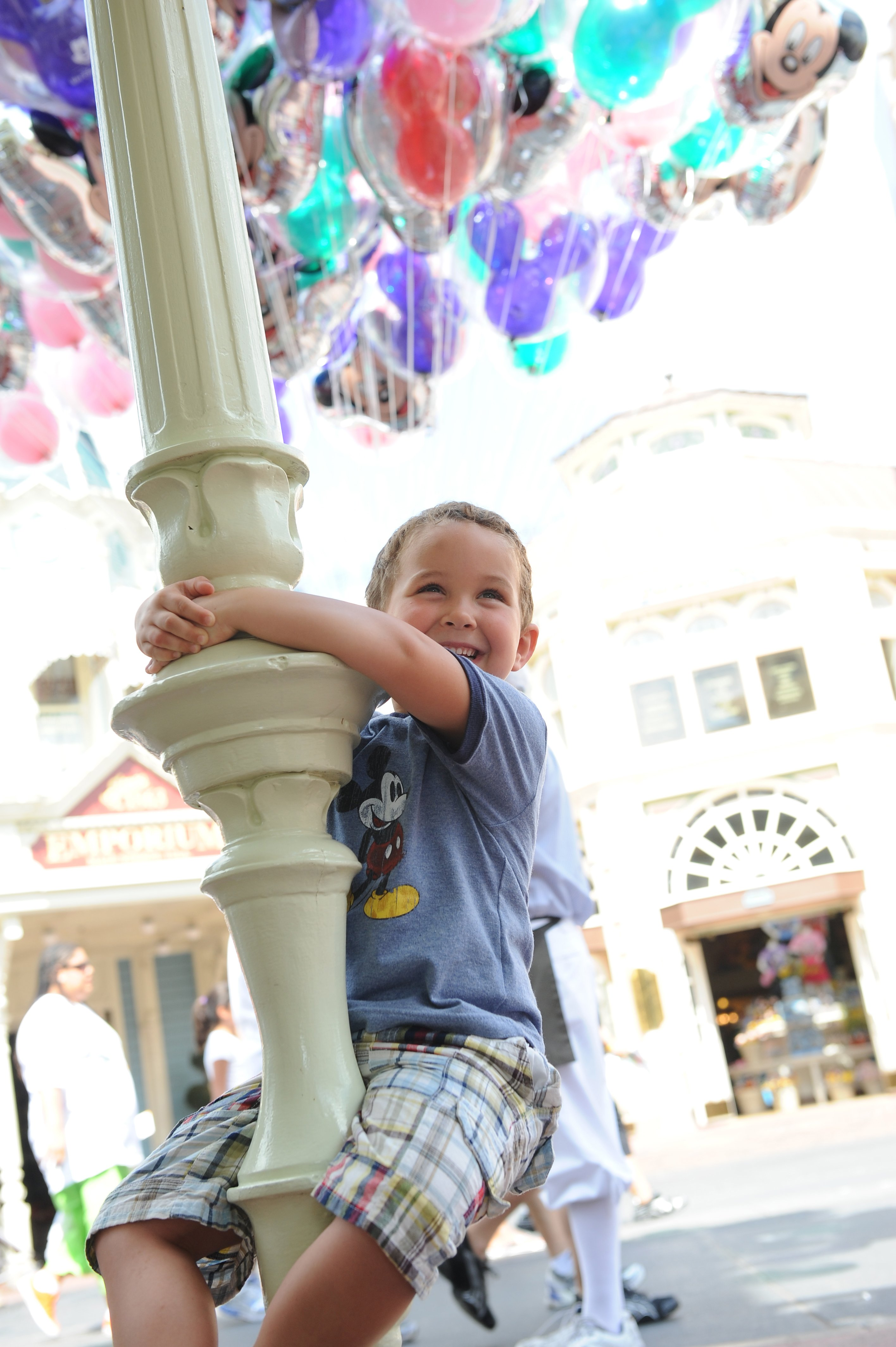 Young Guest On Main Street USA