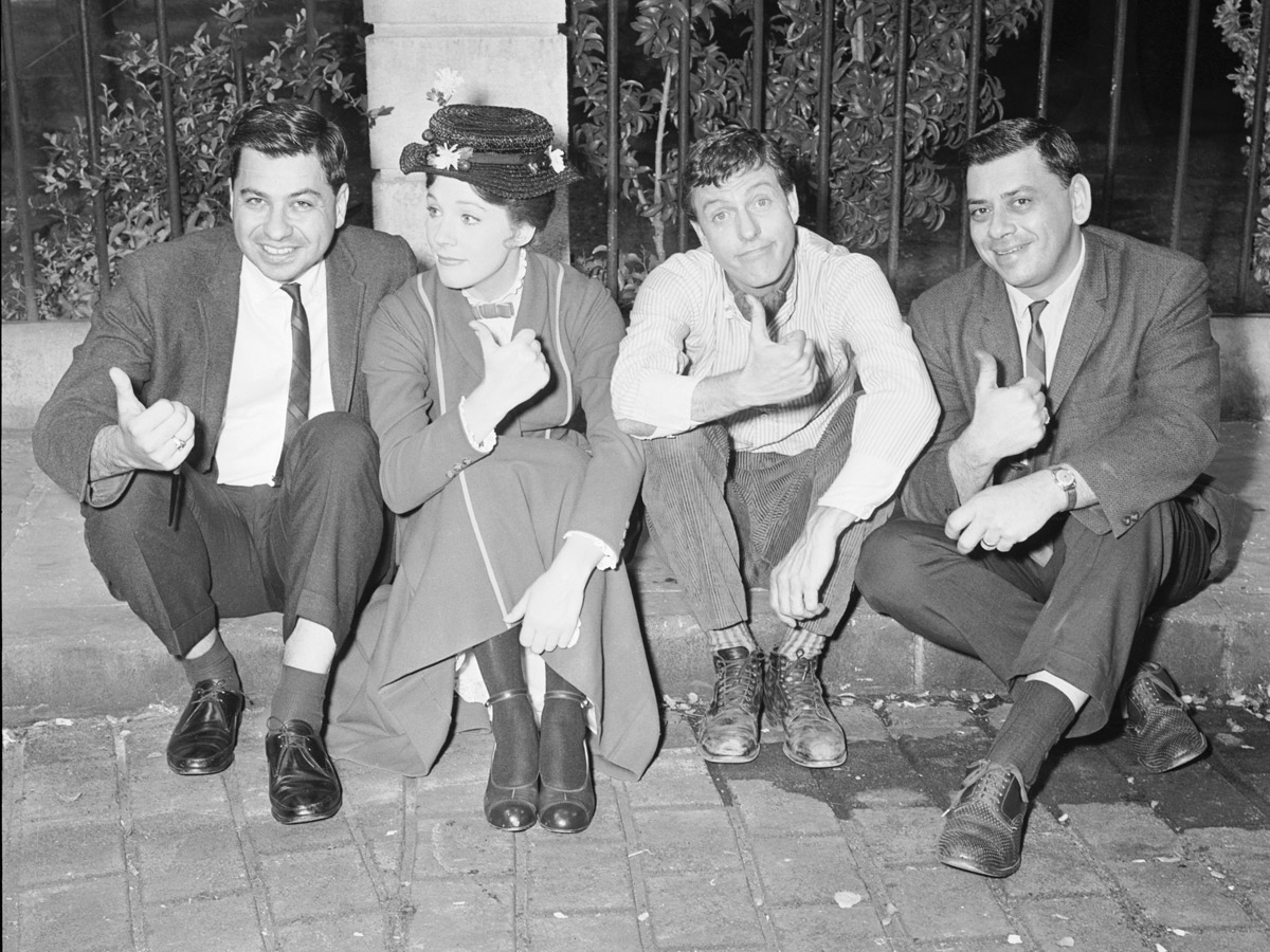 The Sherman Brothers with Mary Poppins