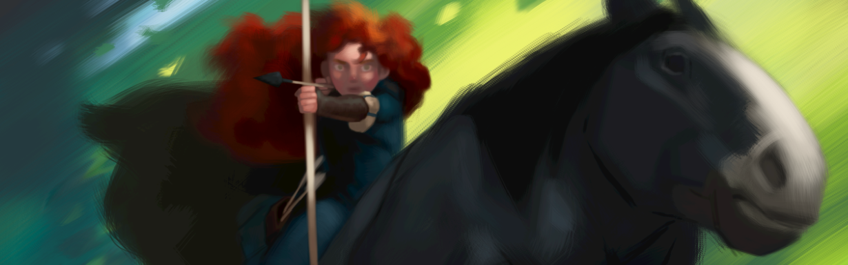 Pixar Brave Concept Art