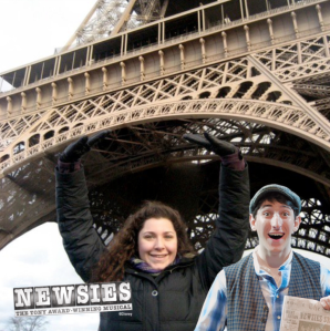 Newsies Photo Booth 12