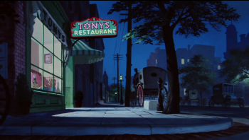 Tony's Restaurant from Lady and the Tramp