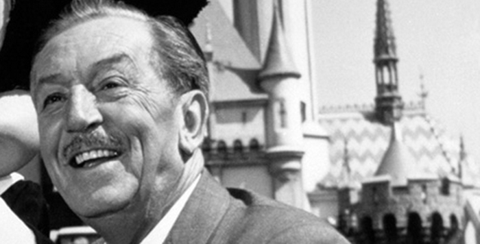 Walt Disney at Disneyland