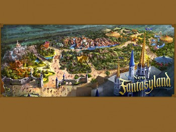 Magic Kingdom's New Fantasyland