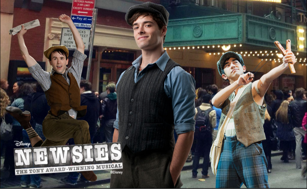 Newsies Photobooth App