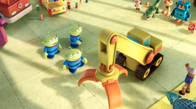 Toy Story Lessons Green Aliens Claw