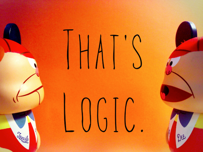 Alice Quotes- That's logic