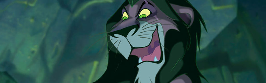 Disney Villain Songs Scar from the Lion King