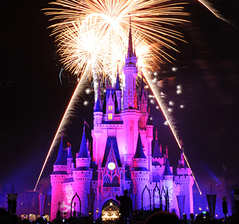 Cinderella Castle Fireworks
