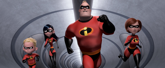 Pixar film, The Incredibles